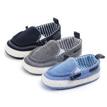 New newborn baby boys shoes cotton fabric plush no-slip shoes tassels