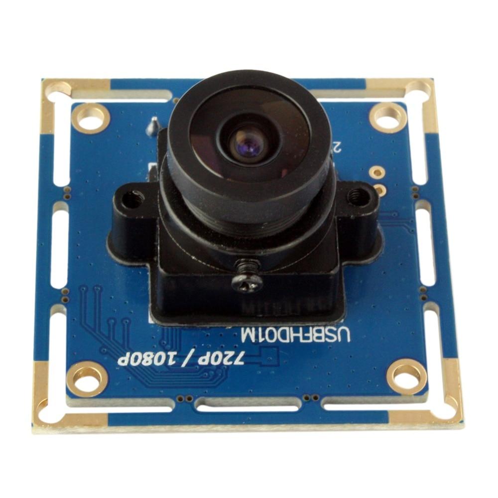 все цены на Industrial full hd 1080P MJPEG &YUY2 OV2710 CMOS mini Black /White monochrome usb camera module android linux raspberry pi онлайн