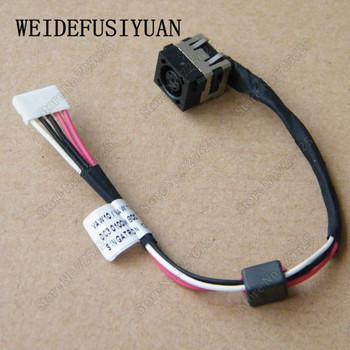 50-100PCS DC Power Jack Socket In Cable Harness For Dell Inspiron 17 5721 5737 3737 3721
