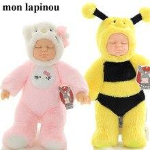 KT Bee Reborn Baby Doll Kawaii Bjd Bebe Кукла Плюшевая овечка игрушка в форме розовой свиньи Мягкая кукла животных детские игрушки высокое качество Прямая поставка