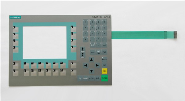 Membrane keypad for 6AG1643-0BA01-4AX1 SIPLUS HMI OP277 6 , Membrane switch , simatic HMI keypad , IN STOCK a86l 0001 0288 1pc membrane keypad new fast ship in stock 6 button or 12 button