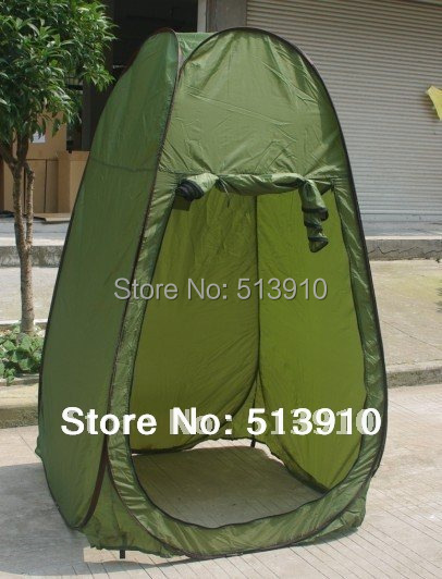 Single person army green Shower tent/dreesing tent/toilet tent /photography pop up & Single person army green Shower tent/dreesing tent/toilet tent ...
