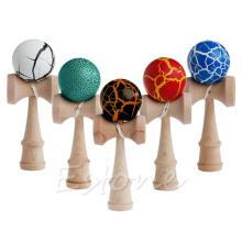 New High Quality Safety Toy Bamboo Kendama Best Wooden Toys Kids Gift