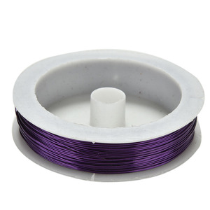Image 3 - 40m Rolling Iron Craft Wire 0.5mm Spool Soft DIY String Jewelry Craft Metal Wire for DIY Decorative Flowers Wreaths Package