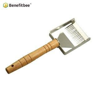 Image 4 - Benefitbee di Marca il Miele Uncapping Raschietto Uncapping Forcella A Nido Dape Honey Raschietti Strumento di Apicoltura Apicoltura Attrezzature