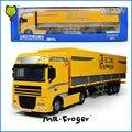 Г-н Froger Палатку Платформу Транспортер сплава модель автомобиля Изысканный металл Инженерных Строительных машин грузовик Украшения Классические Игрушки