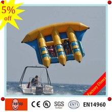 0,9 мм пвх брезент немецкие водные игры оборудование надувные летающие рыбы/банан лодка для продажи