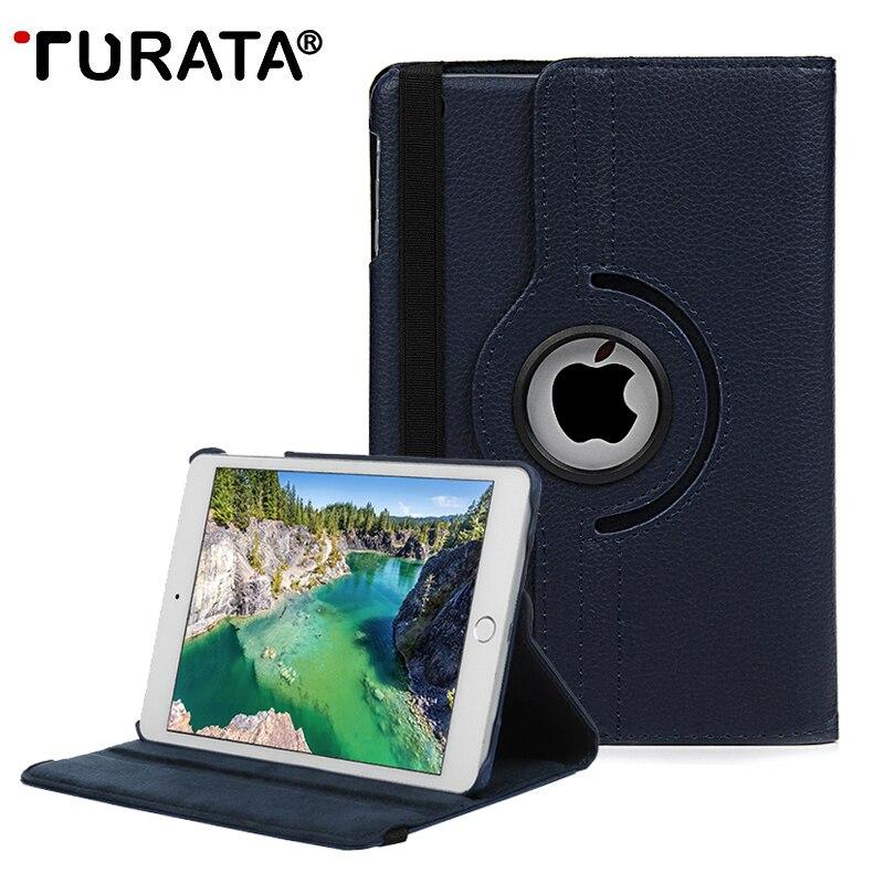 TURATA For Apple iPad Pro 10.5 inch Case, Lichee Grain 360 Degree Rotate Full Body Protective Flip Cover For Apple iPad Pro