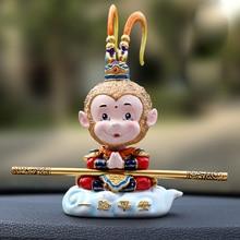 Auto scimmia Bambole Testa di Scossa Giocattoli Per Il Veicolo Auto Decorazione di Interni Divertente Ornamenti Creativo Parti Manuale Auto Carino Teste Dondolanti