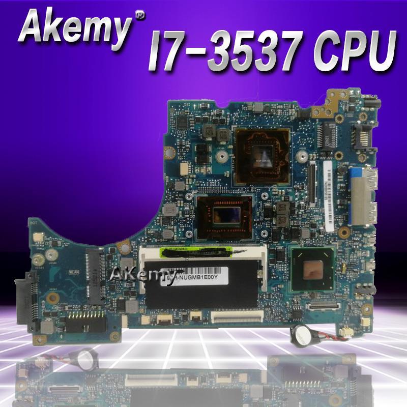 Akemy UX42VS I7 3537 материнская плата REV2.3/2,1 Для ASUS UX42VS UX42V ноутбука Материнская плата плате 100% тестирование