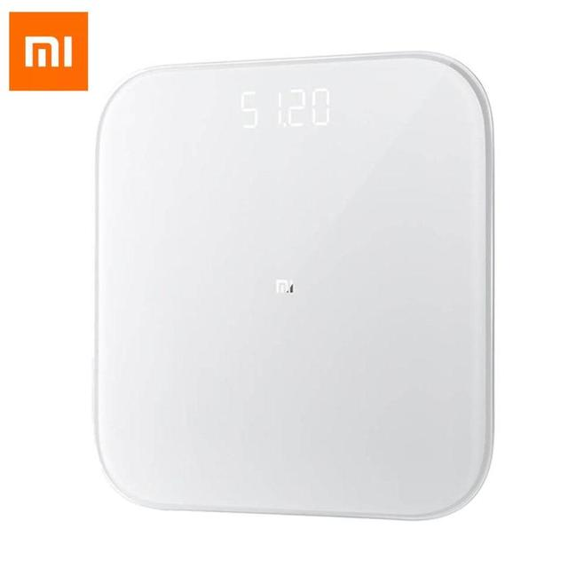 Xiaomi Homekit Mi Body Scale 2 Bluetooth 5.0 Precision Fitness Smart Weight Mi Scale 2 Body Fat Weight Monitor Smart Home