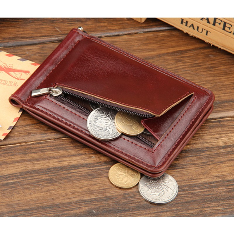 moda slim mini grampos do Feather : Fashion, simple, Casual, Business, elegant Money Clips