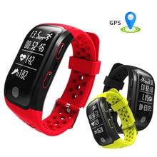 2017 S908 GPS smart Сердечного ритма браслет сна Monitores Фитнес шагомер IP68 Водонепроницаемый Смарт-часы браслет Спорт трекер