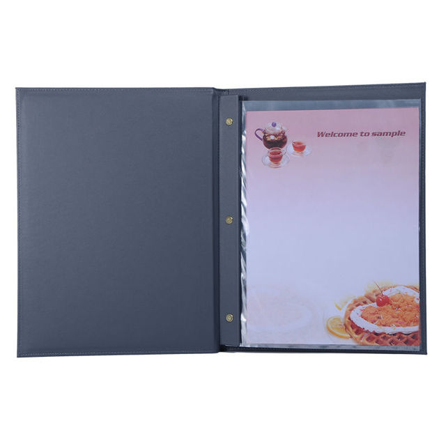 40 pcs lot custom restaurant menu covers ktv bar menu fovers food