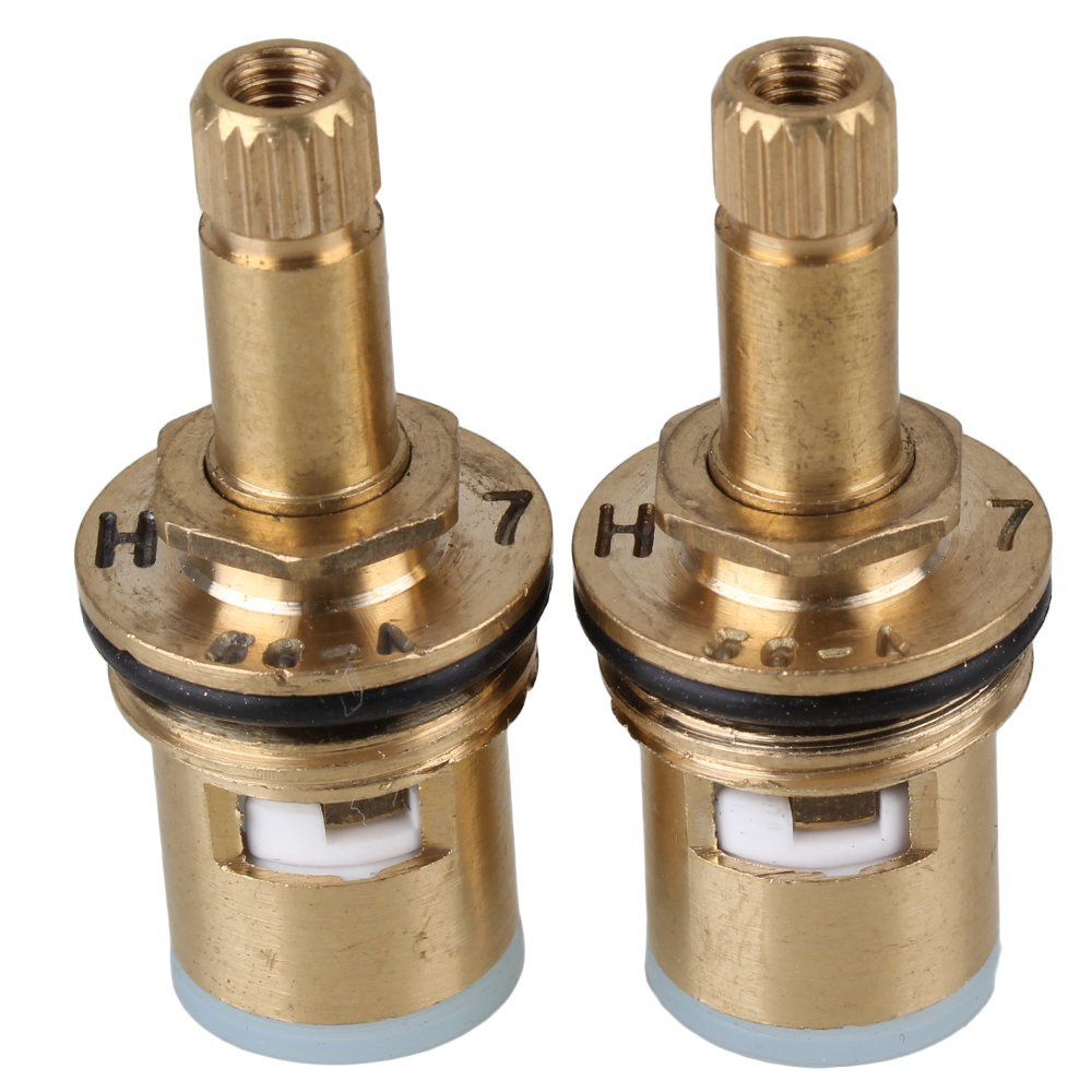 Everso Ceramic Thermostatic Valve Faucet Cartridge: Brass 8.2mm Model Faucet Ceramic Disc Cartridge Valve Core