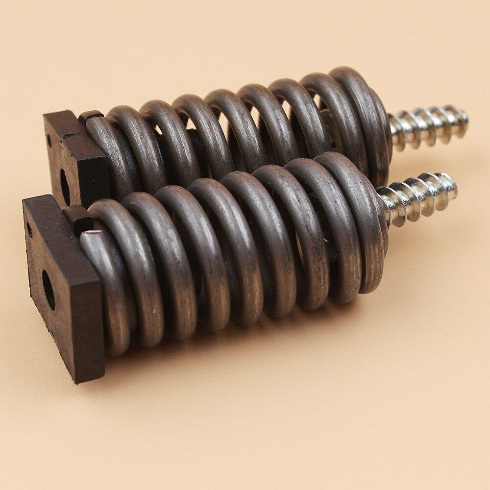 2Pcs/lot Rear Fuel Tank AV Shock Spring Buffer For HUSQVARNA 455 460 445E 357XP 359 340 350 345 346XP 351 353 Chainsaw Parts