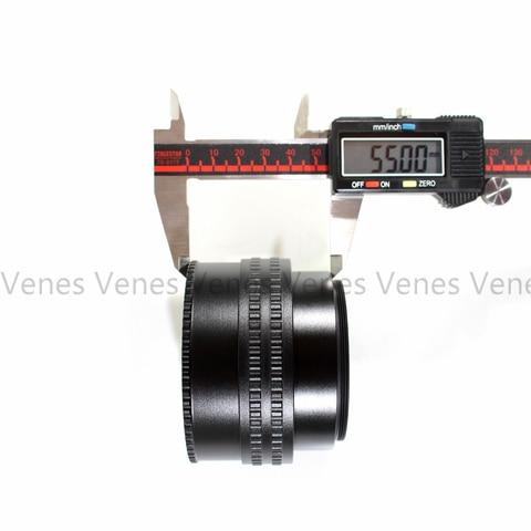 Montagem da Lente para a Lente 15-26.5mm + Lente Adaptador para M42 Câmera M42 Ajustável Focando Helicóide Macro Tubo 25-55mm – 12-19mm c fx