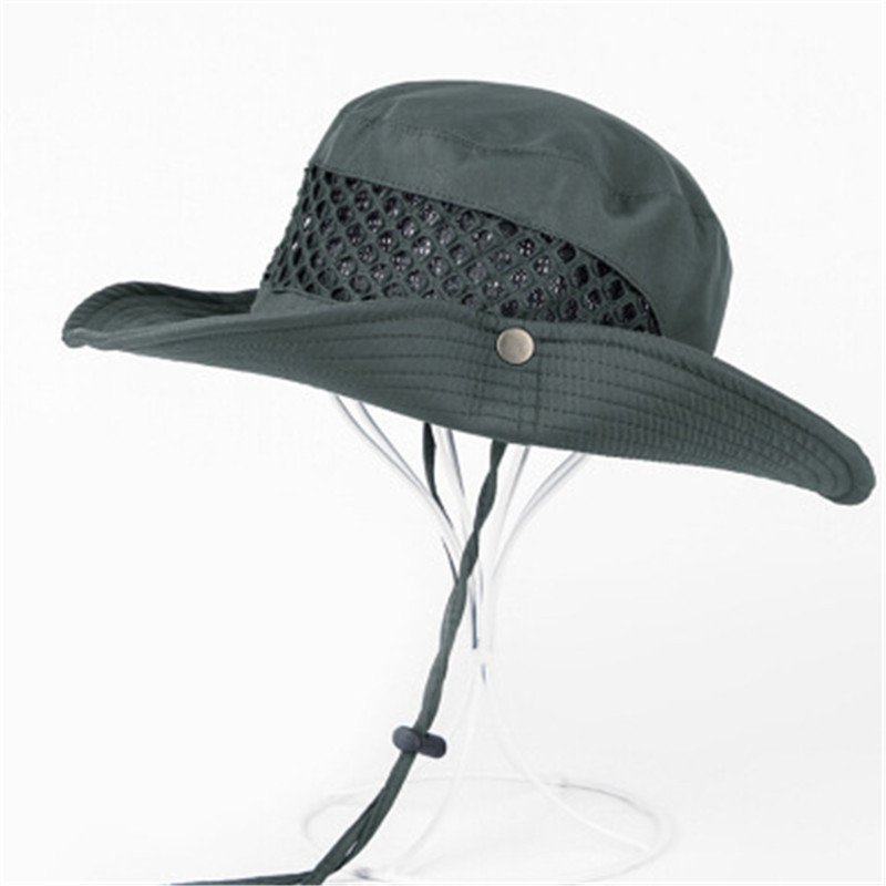 2019 Sun Hat Bucket Camo Summer Men Women Fishing Boonie Hat Sun UV Protection Long Large Wide Brim Bob Hiking Outdoor