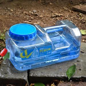 Image 4 - 5L Car bucket PC BPA Free Reusable Plastic Water Bottle Gallon Replacement Water Bottle Snap On Cap Anti Splash Jug Container