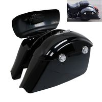 Painted Saddlebag W/ Electronic Latch Assembly For Indian Roadmaster Springfield Chieftain Dark Horse Motorcycle