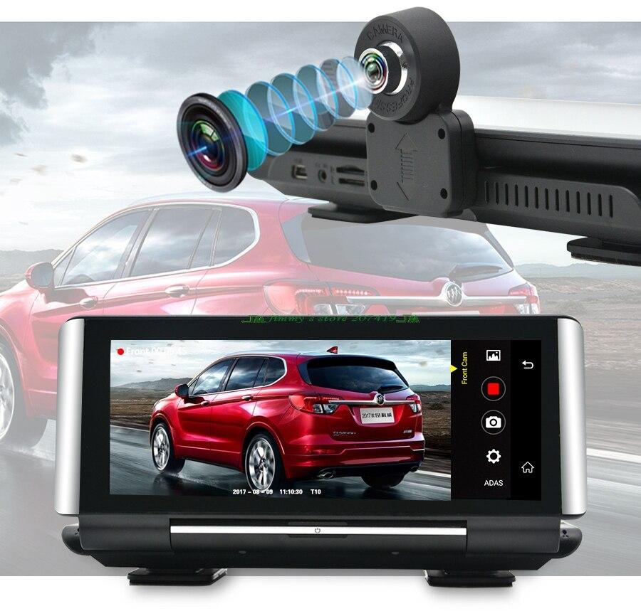 Автомобильный dvr gps 4 г навигационный трекер 5,1 Android 1080 Автомобильная камера wifi 6,86 P ADAS видео рекордер для автомобиля Туризм навигаторы