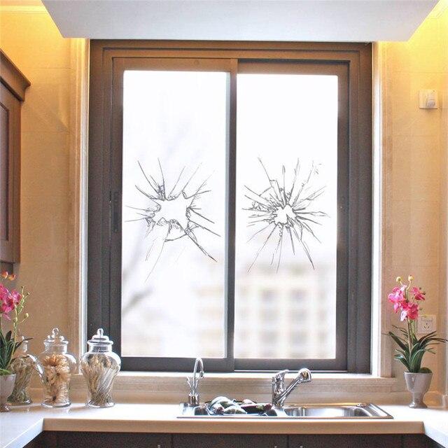 Charmant Window Frosted Glass Sticker Crash Type DIY Cuttable Light Blocking Window  Glass Bathroom Home Decor 3