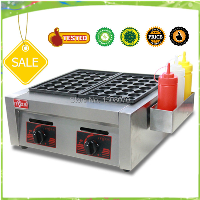 free shipping commerical electric taikoyaki grill 2 plates gas takoyaki maker commerical electric grill  griddle veg 830