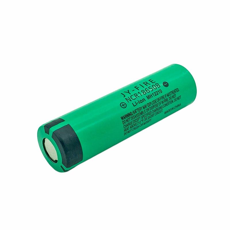 4PCS  TBUOTZO New Original 18650 3400mAh NCR18650B Rechargeable Battery 3.7 V For Panasonic Laptop Batteries