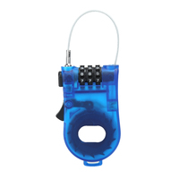 Portable retractable bike bicycle combination cable code lock helmet luggage safety 3 digit padlock bicycle rock.jpg 200x200