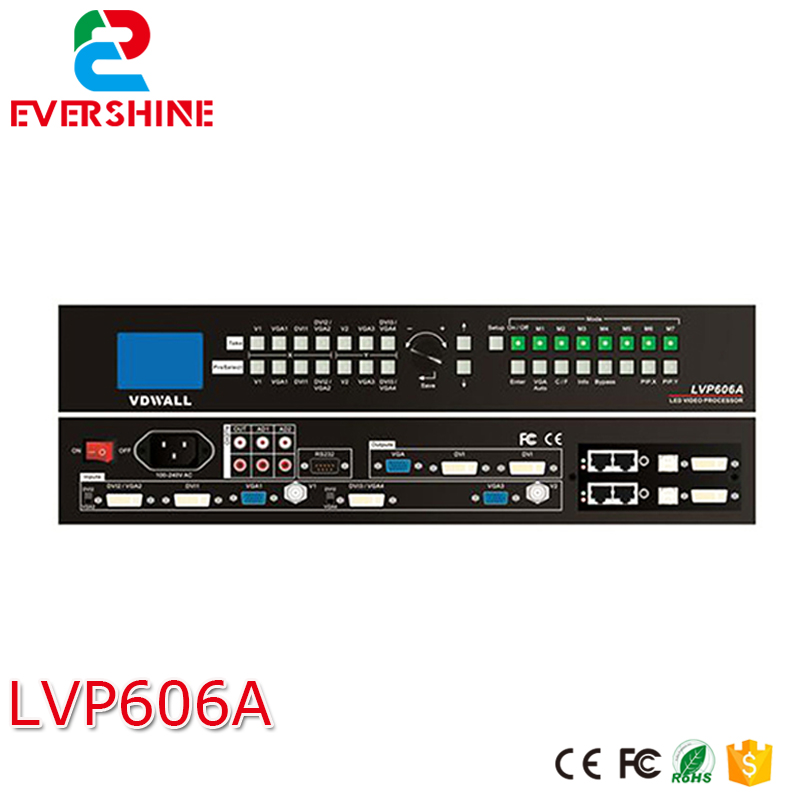 LVP606A  LED HD Switch Station Video Wall / Advertising LED Display Solution  For P2.5, P3, P4, P5, P10, P16 david booth display advertising an hour a day