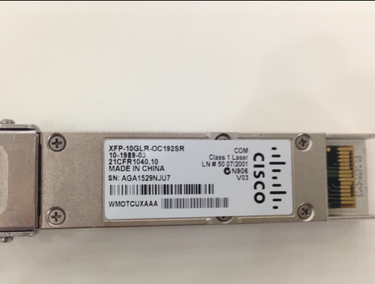 Original XFP-10GLR-OC192SR XFP 10G fiber optical transceiver Single-mode 10kmOriginal XFP-10GLR-OC192SR XFP 10G fiber optical transceiver Single-mode 10km