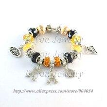 Бесплатная доставка Kat Jewelry kapp Альфа Тета прелести браслет