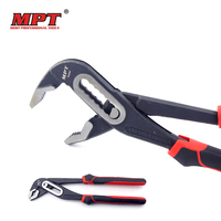 MPT 10 Water Pump Pliers Quick Release Plumbing Pliers Straight Jaw Groove Joint Pliers Maintenance Plumber