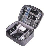 BUCHNIK водостойкая цифровая сумка портативный данных кабель для наушников Мобильный блок питания Многоцелевой Путешествия пакет для организ...