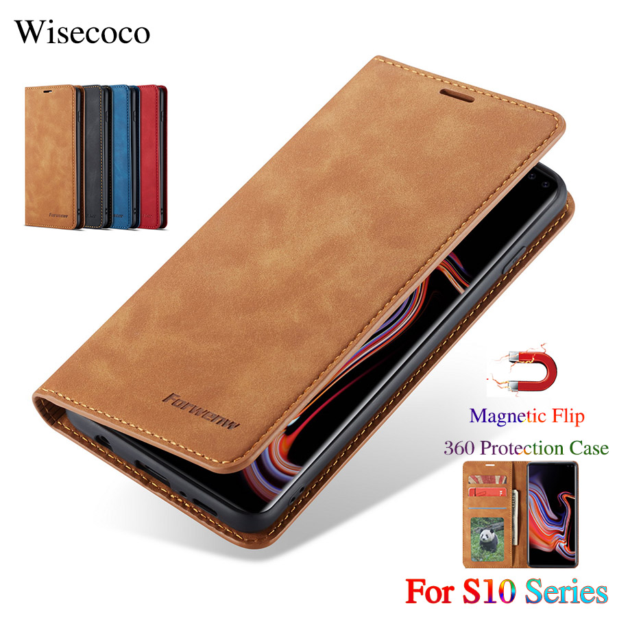 Flip Leather Case for Samsung Galaxy S10 Plus Luxury Wallet Stand Card Slot Holder Magnetic Book Cover for Galaxy S10E S10 5GFlip Leather Case for Samsung Galaxy S10 Plus Luxury Wallet Stand Card Slot Holder Magnetic Book Cover for Galaxy S10E S10 5G
