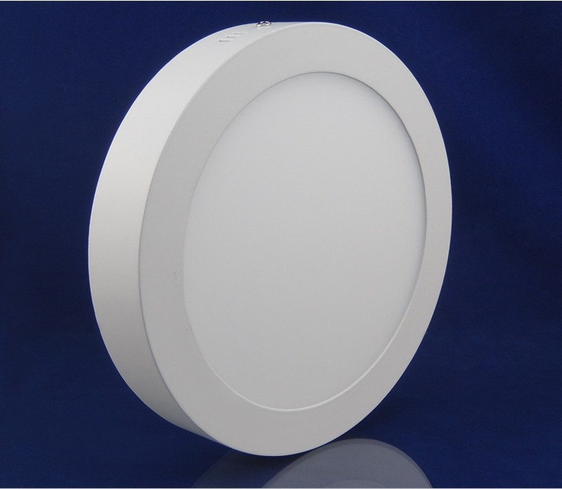No Cut 10w 15w 25w 30w Round Dimmable Surface Mounted Led