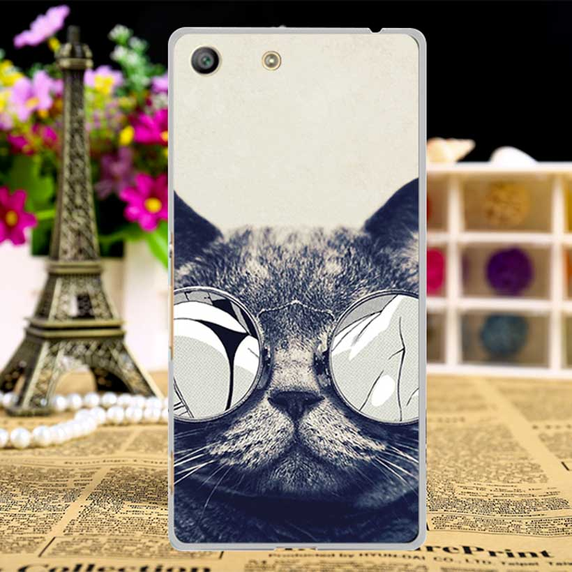 TAOYUNXI Soft Phone Cases For Sony Xperia M5 Aqua E5603 5.0 inch E5606 E5653 E5633 E5643 E5663 Cases Hard Covers Skin Sheath Bag