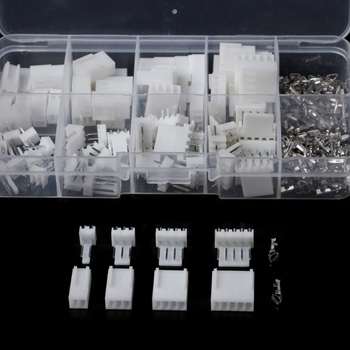 40 Sets Kit 2P 3P 4P 5P 2.54mm Pitch Terminal Housing Pin Header Connector Adaptor Connectors