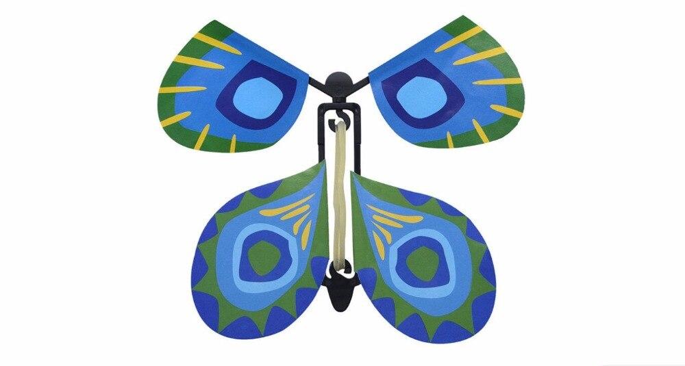 Vente en gros 100 pièces lot magie papillon volant des mains vides liberté papillon tours de magie mentalisme magie bébé jouet accessoires de magie - 6