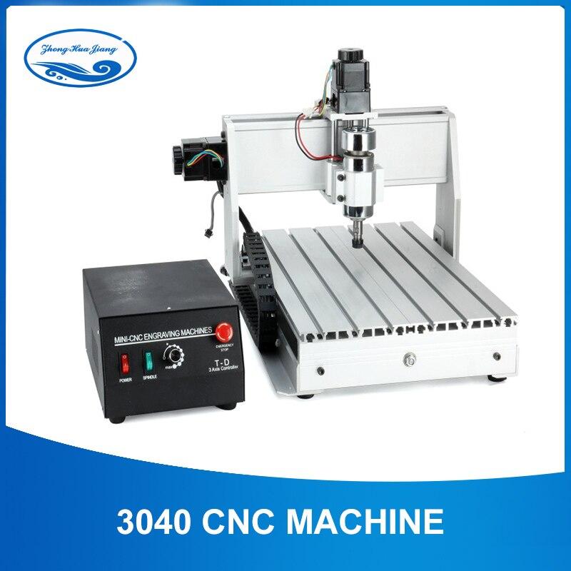 300 W/800 W/1500 W CNC Machine 3040 T-D 3 axes CNC routeur graveur fraisage Mini CNC 3040 fabricant