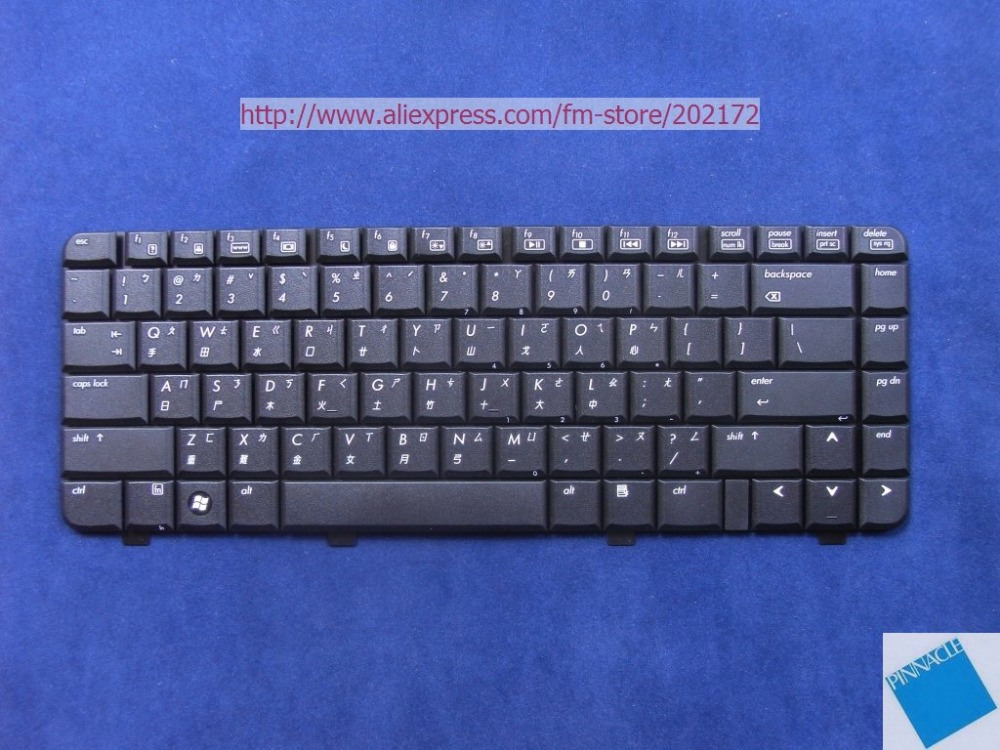 Brand New Black Laptop Keyboard 448615-AB1For HP Pavilion DV2000 V3000 Series Taiwan 100% Compatiable US hp dv9000 dv6000 dv2000 v3000