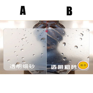 Image 3 - ¡Venta al por mayor! 200 Uds 85,5*54mm mejor Material de PVC mate tarjeta de visita transparente de plástico tarjetas de plástico transparente en blanco de alta calidad