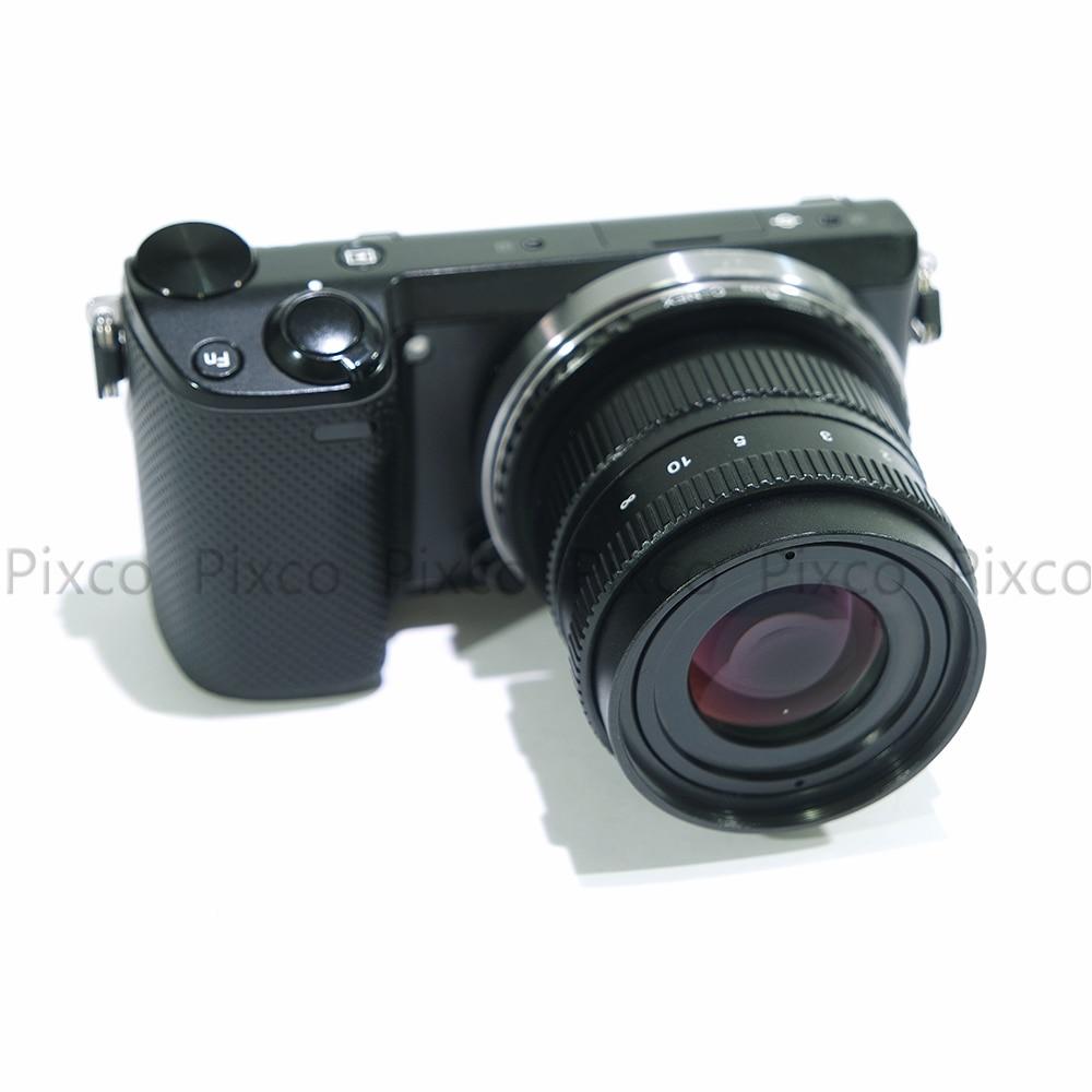 Pixco 50mm f / 1,8 fără oglindă C-mount APS-C Televiziune obiectiv - Camera și fotografia