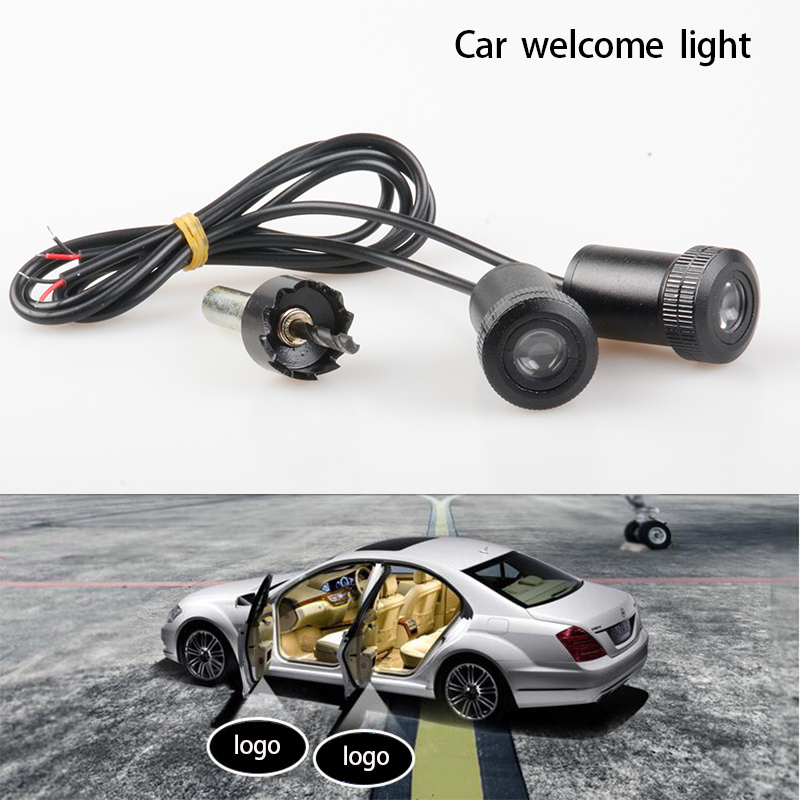 High quality 12v led car door logo light car welcome lamp for 12 light door