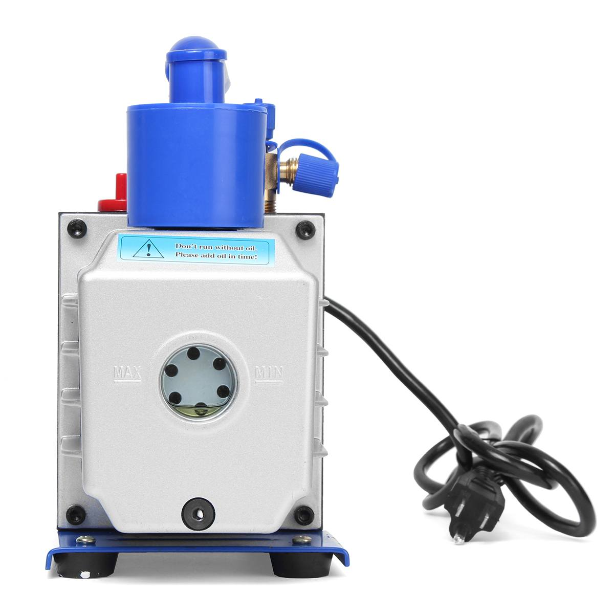 US $205 38 40% OFF|R134A R22 R410A 4 8CFM Vacuum Pump HVA/C Refrigerant  W/4VALVE MANIFOLD GAUGE Pumps Parts Mini Vacuum Pump For Air  Conditioning-in