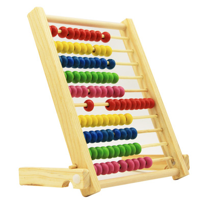 Premier ABACUS COUNTING FRAME 50 BEADS WOOD
