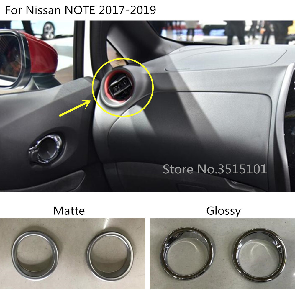 Mirror Chrome Side Door Handle Covers Trims For Nissan 04-09 Nissan Note 04-11 Versa Tiida Latio Brand NEW 2004 2005 2006 2007 2008 2009 2010 2011
