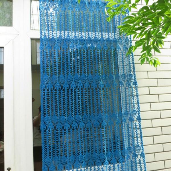 Aliexpress.com : Buy handmade crochet Window Door curtains cotton ...