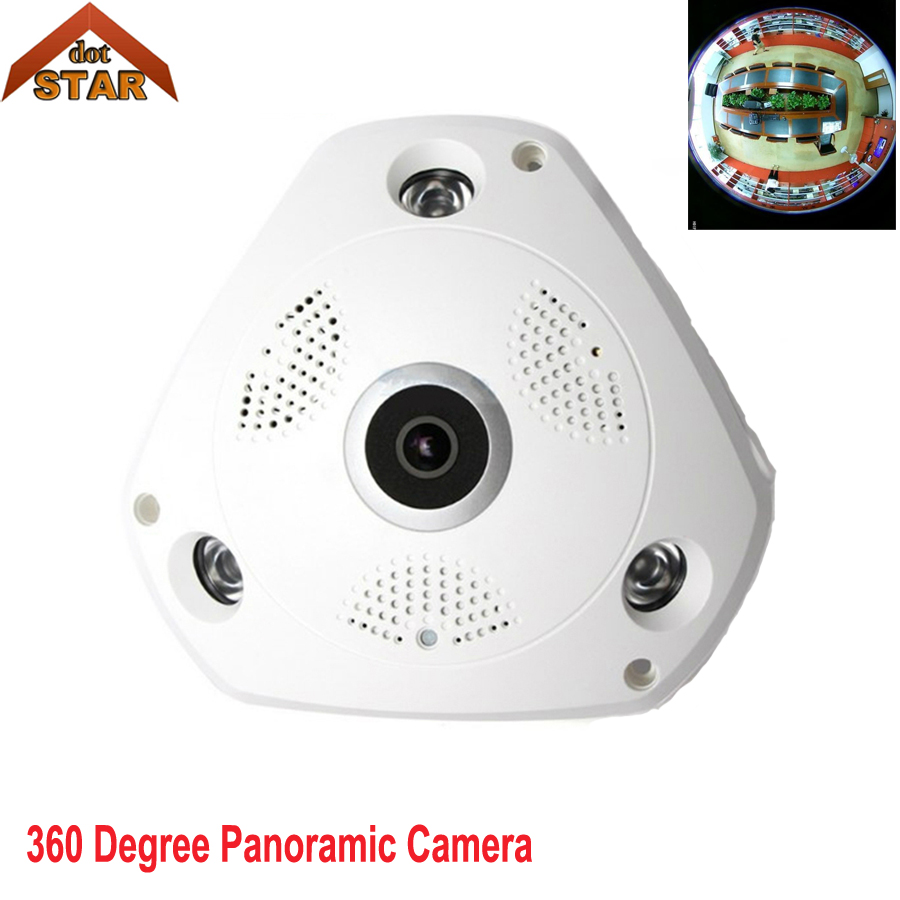 Stardot 960p Wifi 360 Degree Fisheye Panoramic Camera HD VR Panorama HD IP cameras P2P Indoor Cam Security WiFi Wireless Camera erasmart hd 960p p2p network wireless 360 panoramic fisheye digital zoom camera white