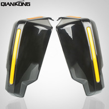 1 pair 7/8in 22mm Motorcycle Hand Guard Handle Protector Shield Motorbike For SUZUKI GSX-S1000 GS 500 DL 650 M109R LTZ400 DRZ400